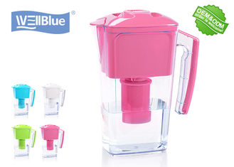 China Colorful Well Blue Alkaline Ionized Water Pitcher 2.5L With High PH And Low ORP factory