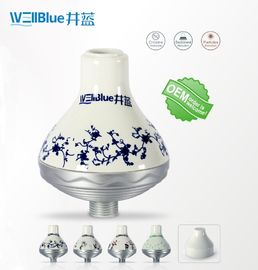 China WellBlue OEM Chlorine Removal Shower Filter , Portable SPA Shower Head Filter factory
