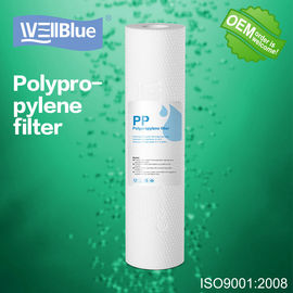 China 10 Inch PP Cotton Sediment Filter Cartridge , 5 Micron Drinking Water Filter factory
