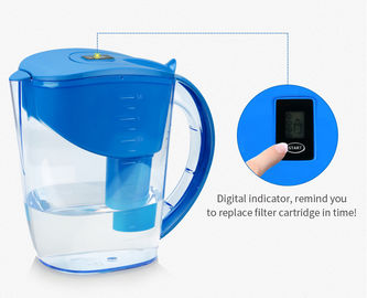 China AS Material Body Brita Classic Water Jug , Portable Alkaline Water Pitcher factory