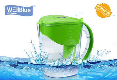 China Customized 3.5L BPA Free Alkaline Water Pitcher , Brita Classic Filter Jug factory