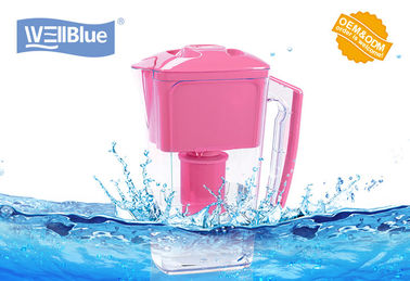 China BPA Free Wellblue Water Pitcher , Plastic Water Filter Kettle NSF WQA Cetificate factory