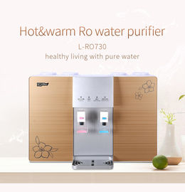 China 110V/220V Wall Mounted RO Water Purifier With Hot And Cold Water Dispenser factory
