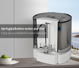 China Countertop Plastic Alkaline Water Ionizer Machine , Alkaline Water Filtration System factory