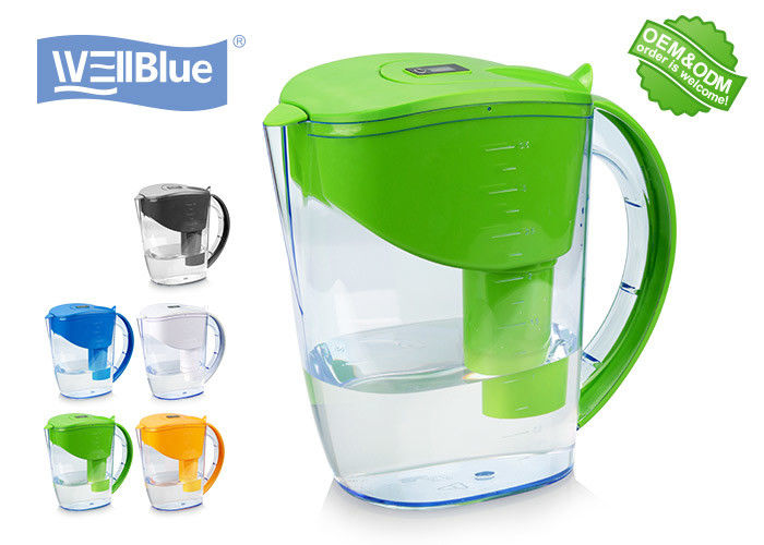 Fashionable 3.5L Alkaline Water Pitcher With Brita Classic Water Filter supplier