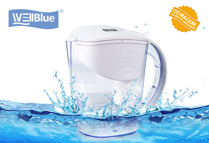 Anti-Oxidant Wellblue Alkaline Water Ionizer Pitcher White / Blue / Green Color