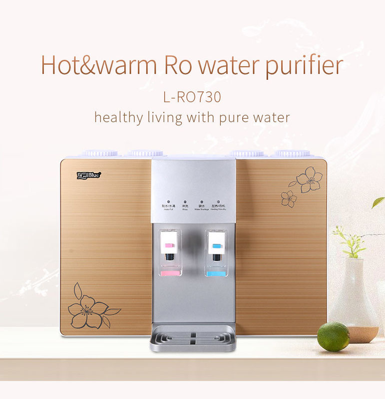 110V/220V Wall Mounted RO Water Purifier With Hot And Cold Water Dispenser supplier