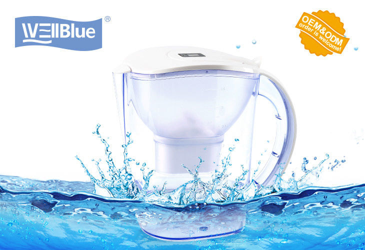 Eco Friendly Plastic Maxtra Water Pitcher / Water Filtration Jug Anti Oxidant supplier