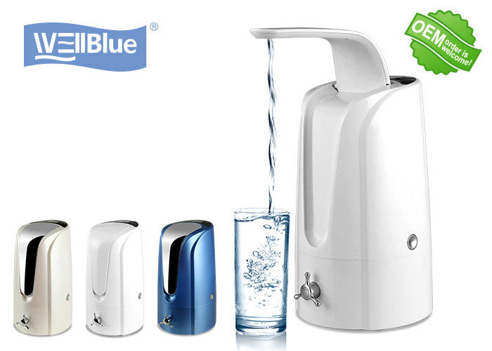 Fashion Tabletop Alkaline Water Purifier System With Filter Replace Time Reminder supplier