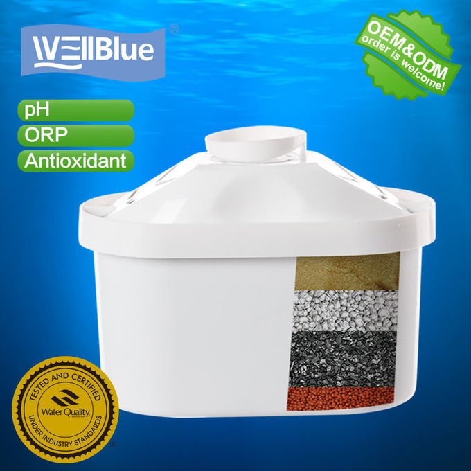 Ion Exchange Resin Drinking Water Filter Cartridge For Water Purifier Jug supplier