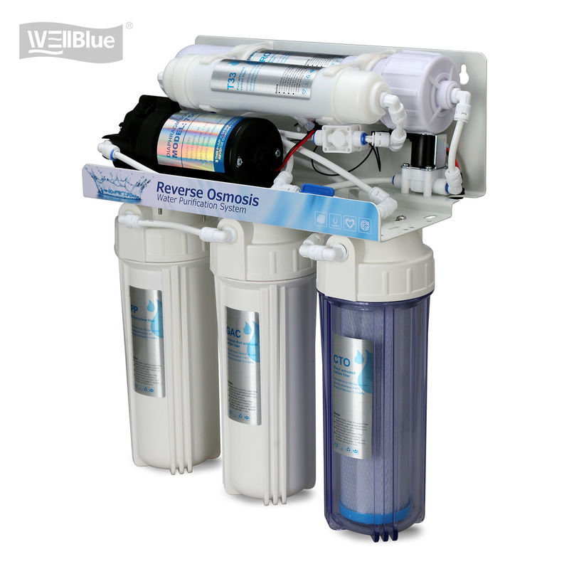 5 Stage Reverse Osmosis Water Purification System With Membrane Filter supplier