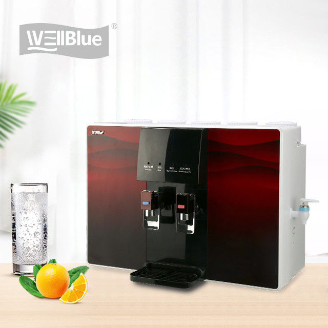 Home Use Countertop Water Purifier With Heater 75GPD 5 Stages Water Filter Purifier supplier
