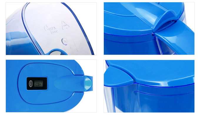 WellBlue Brand Alkaline Water Filter Pitcher 3.5L Make Hydrogen Rich Water