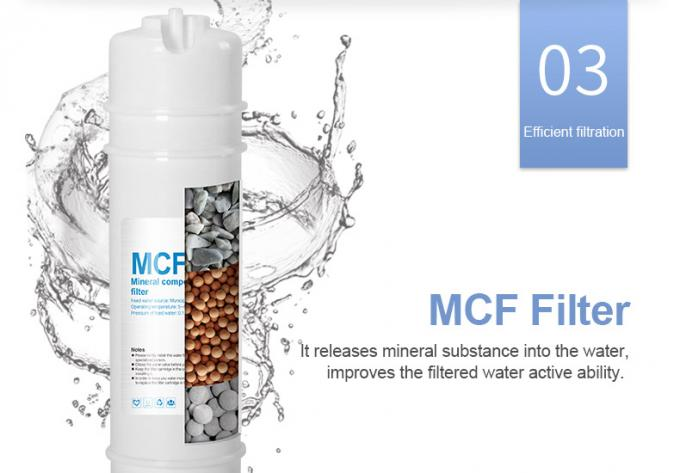Easy Install Alkaline UF Mineral Water Filter With Replacement Filter Cartridge
