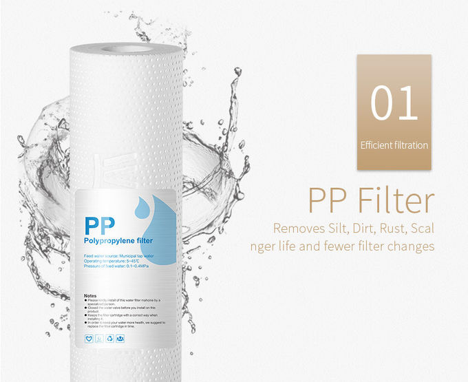 75GPD RO Membrane RO Water Filter Purifier With Heating Function Wall Mounted
